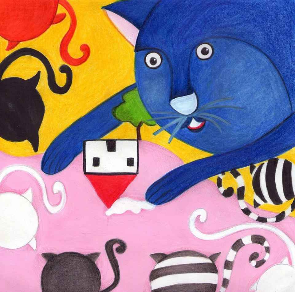 il gattino blu