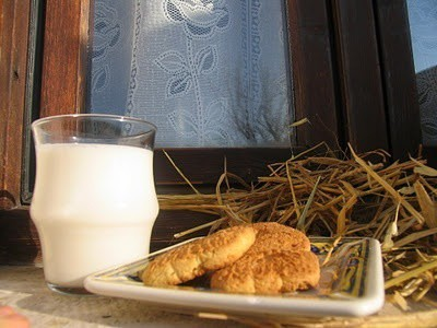 Latte e fieno