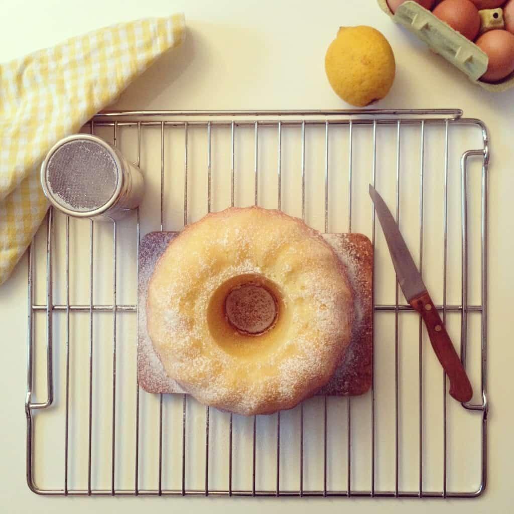 ciambellone cocco e limone