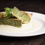 Pie con salmone, broccoli e besciamella
