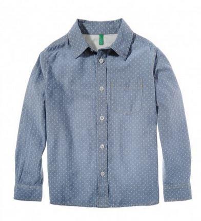 camicia benetton boy