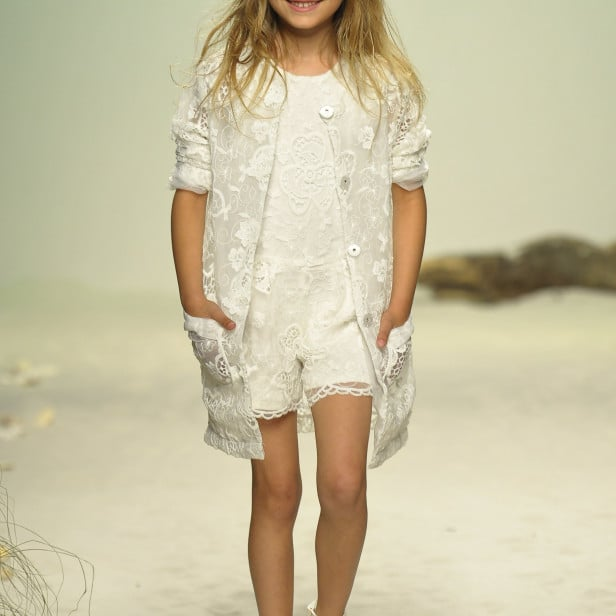 Kids fashion: primavera è… pizzo!
