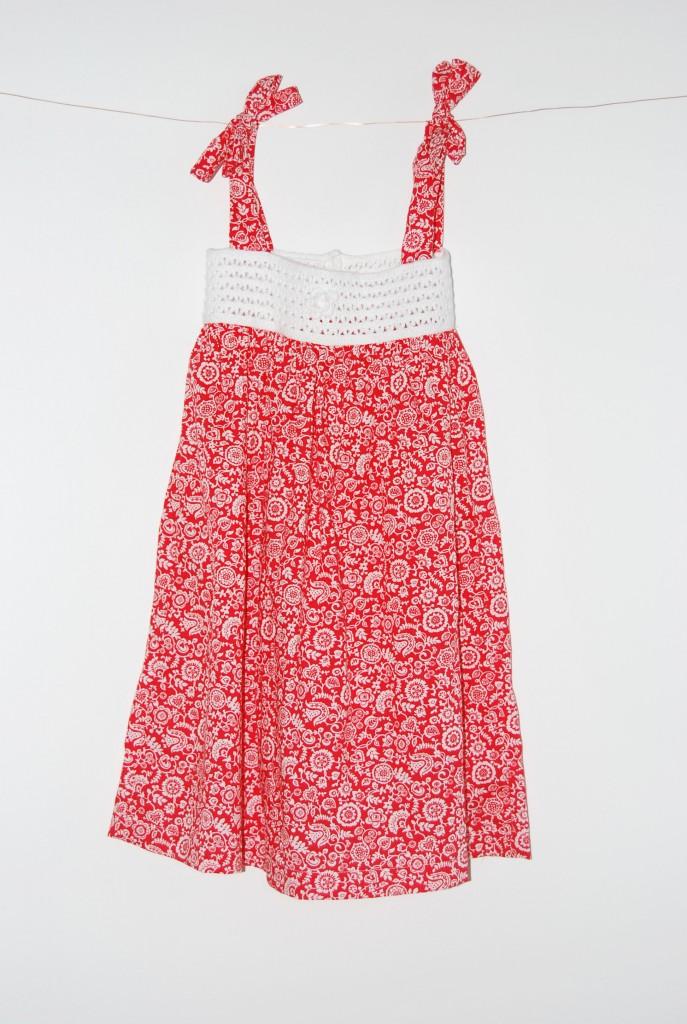 27A-NAV BABE DRESS