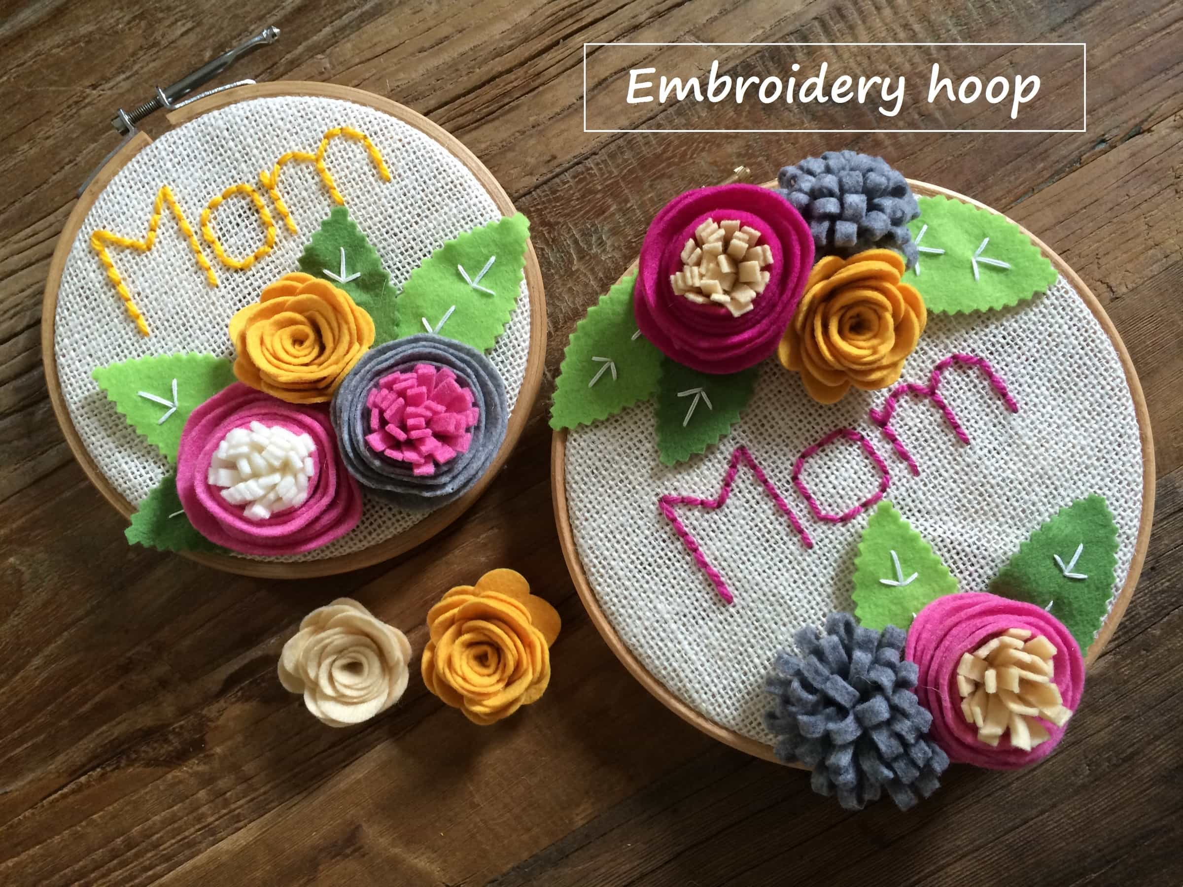 TUTORIAL Embroidery hoop