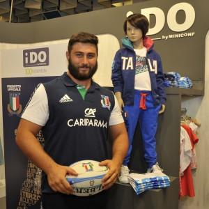 Evento iDO - Paolo Buonfiglio Capitano Nazionale Italiana Under 20 Rugby