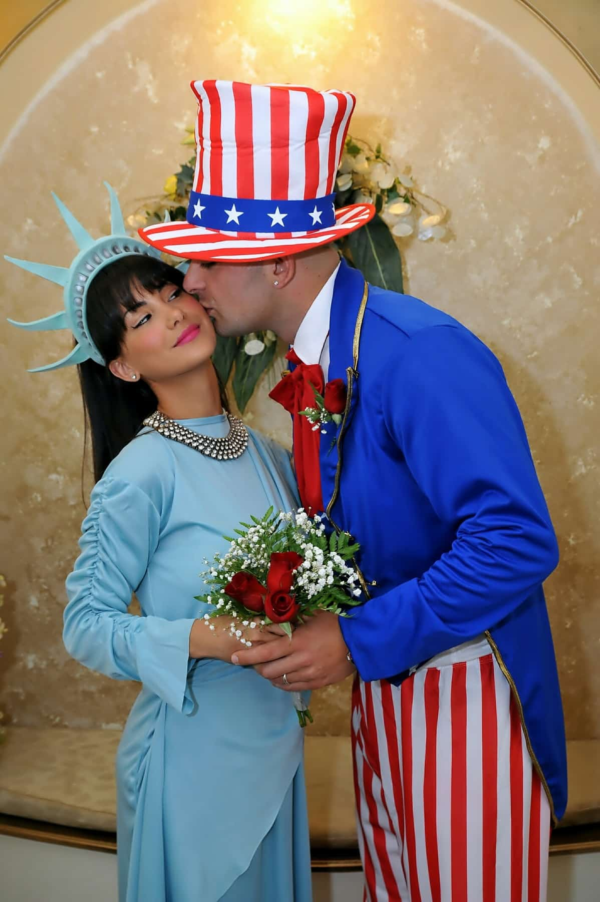 HO DETTO SI: Miss Liberty e Zio Sam