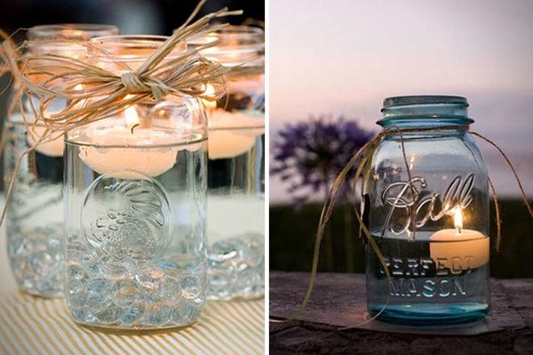 Riciclo creativo: barattoli di vetro womoms®