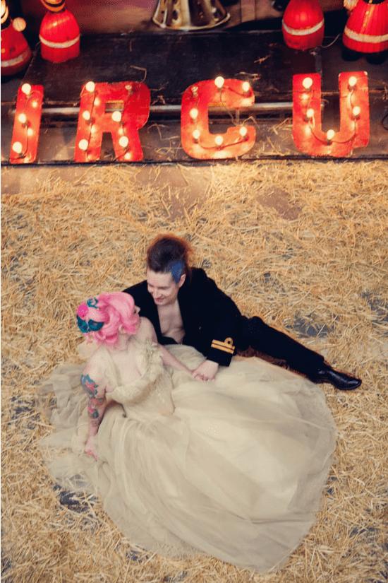 coppia capelli rosa