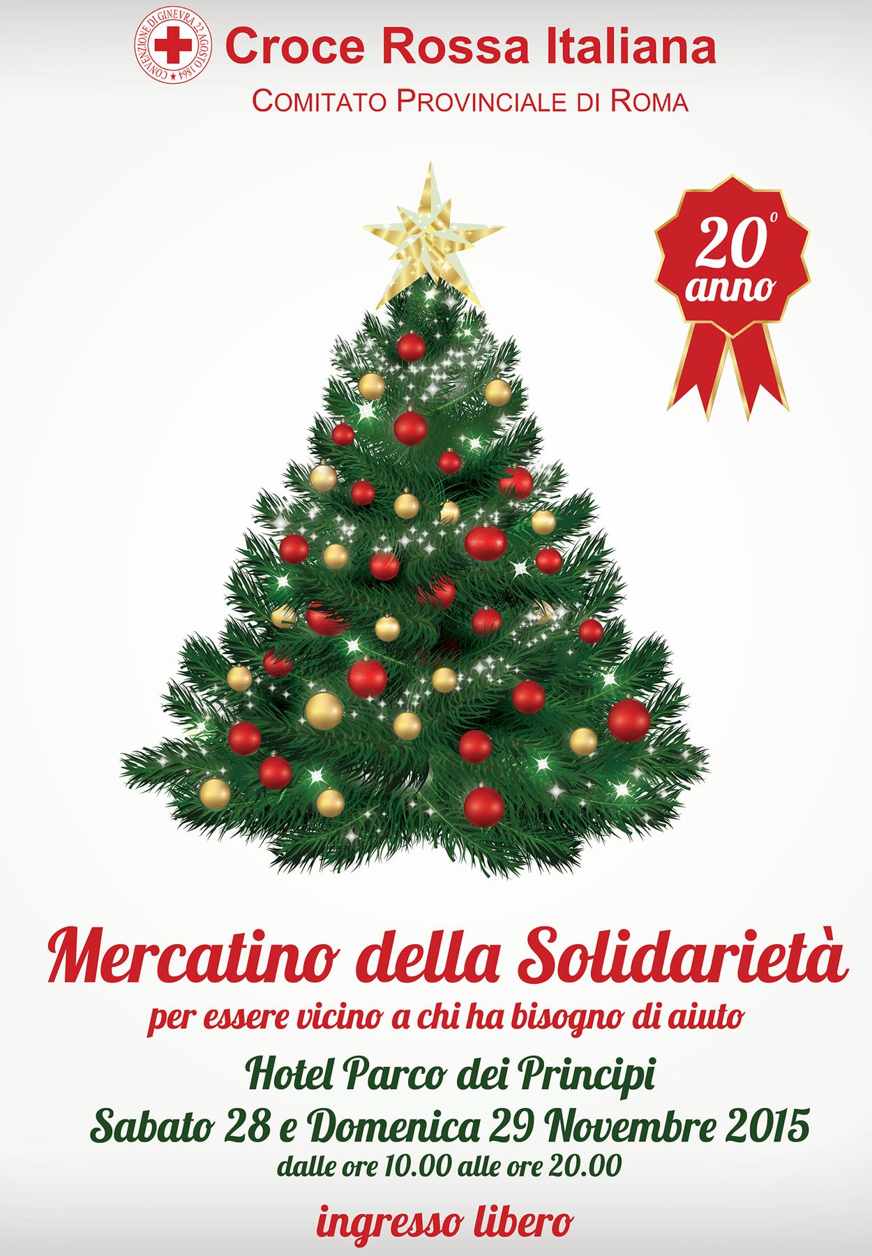 """""""Mercatino della Solidarietà"""" della Croce Rossa Italiana di Roma"""