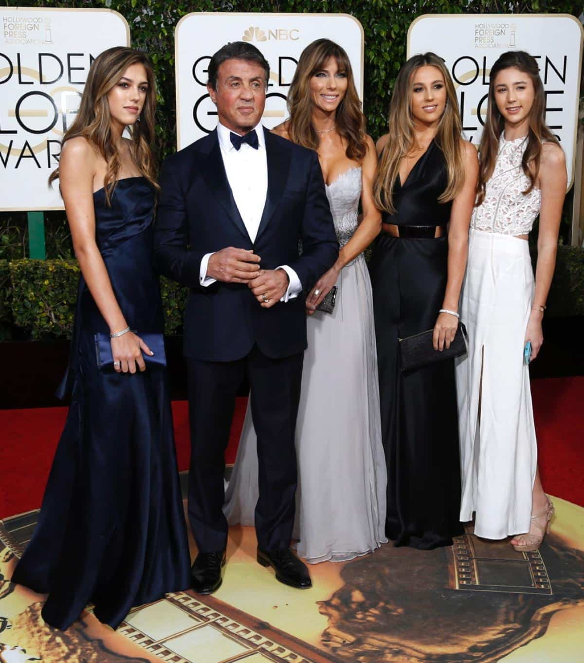 Golden Globe 2016: red carpet
