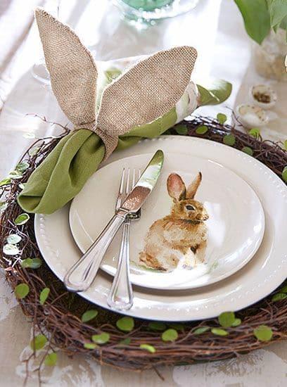 Fiori freschi per la tavola di Pasqua