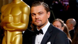 Leonardo DiCaprio durante la serata