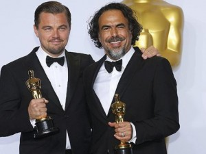 DiCaprio con il regista A. Iñárritu