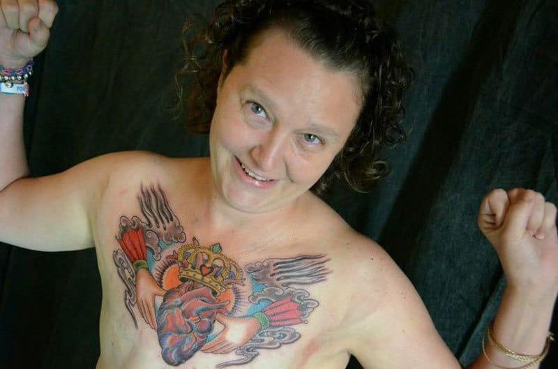 Tatuaggi dopo la mastectomia