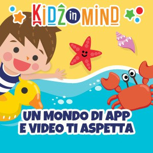 KidzInMind, app e video per bambini