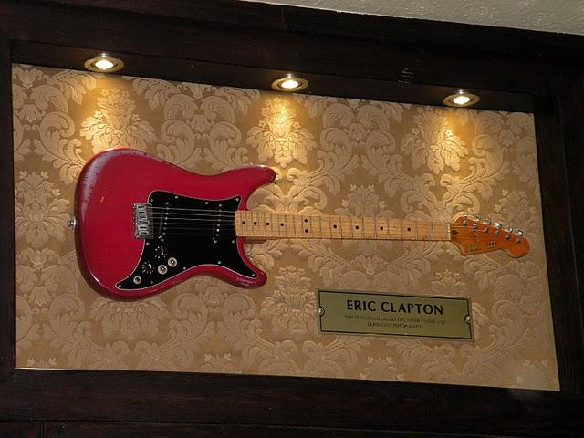 Chitarra di Eric Clapton