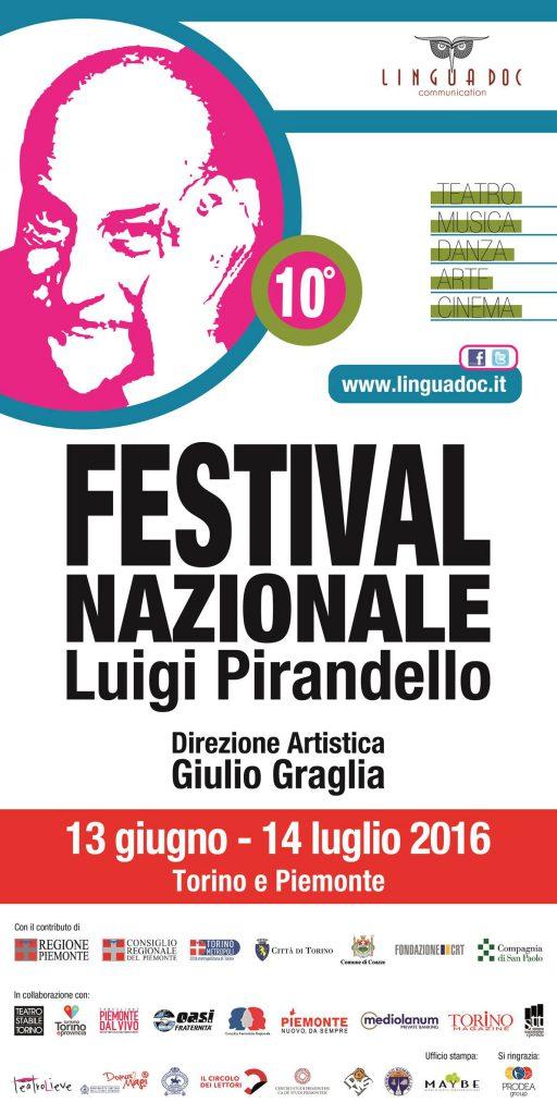 Locandina Festival Pirandello