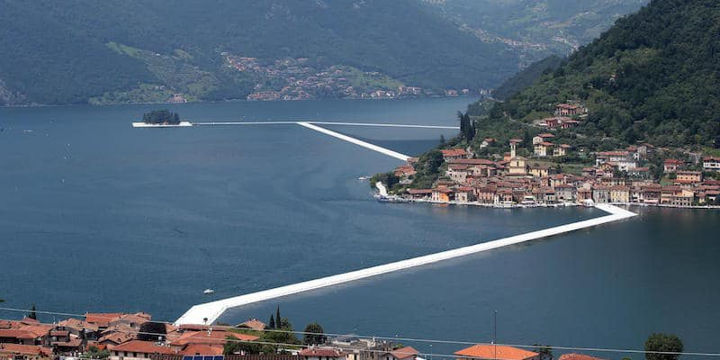 "Christo's ""The Floating Piers"""