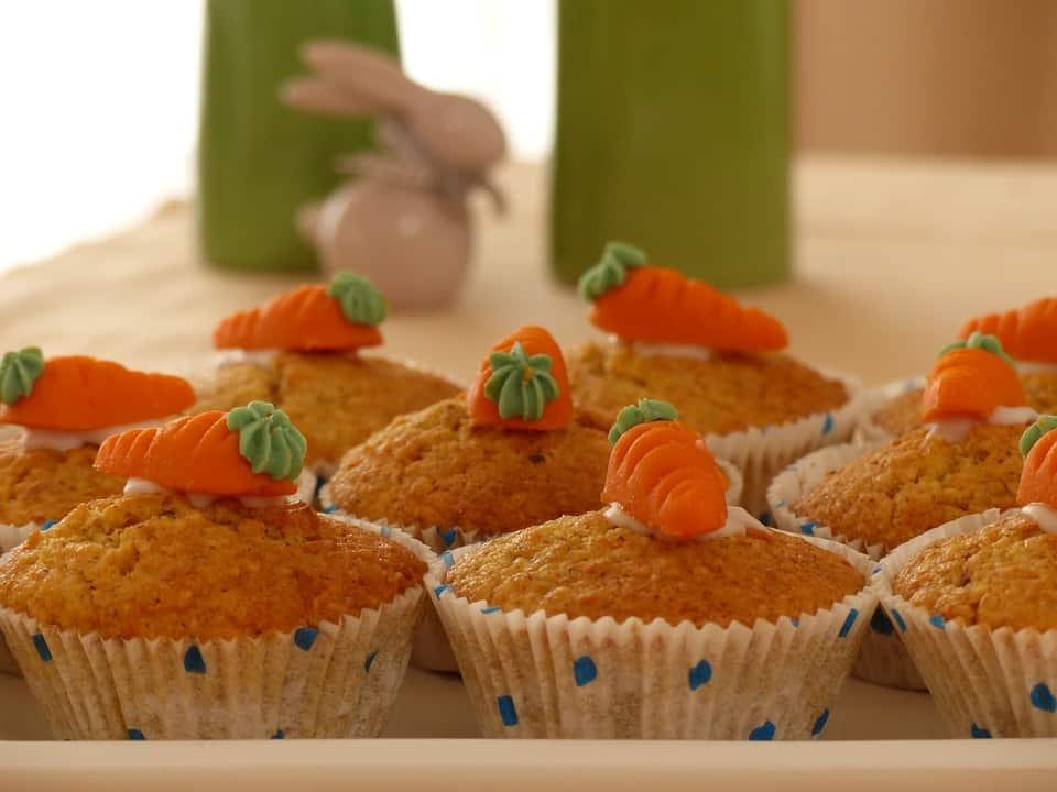 Tortine carota e cannella