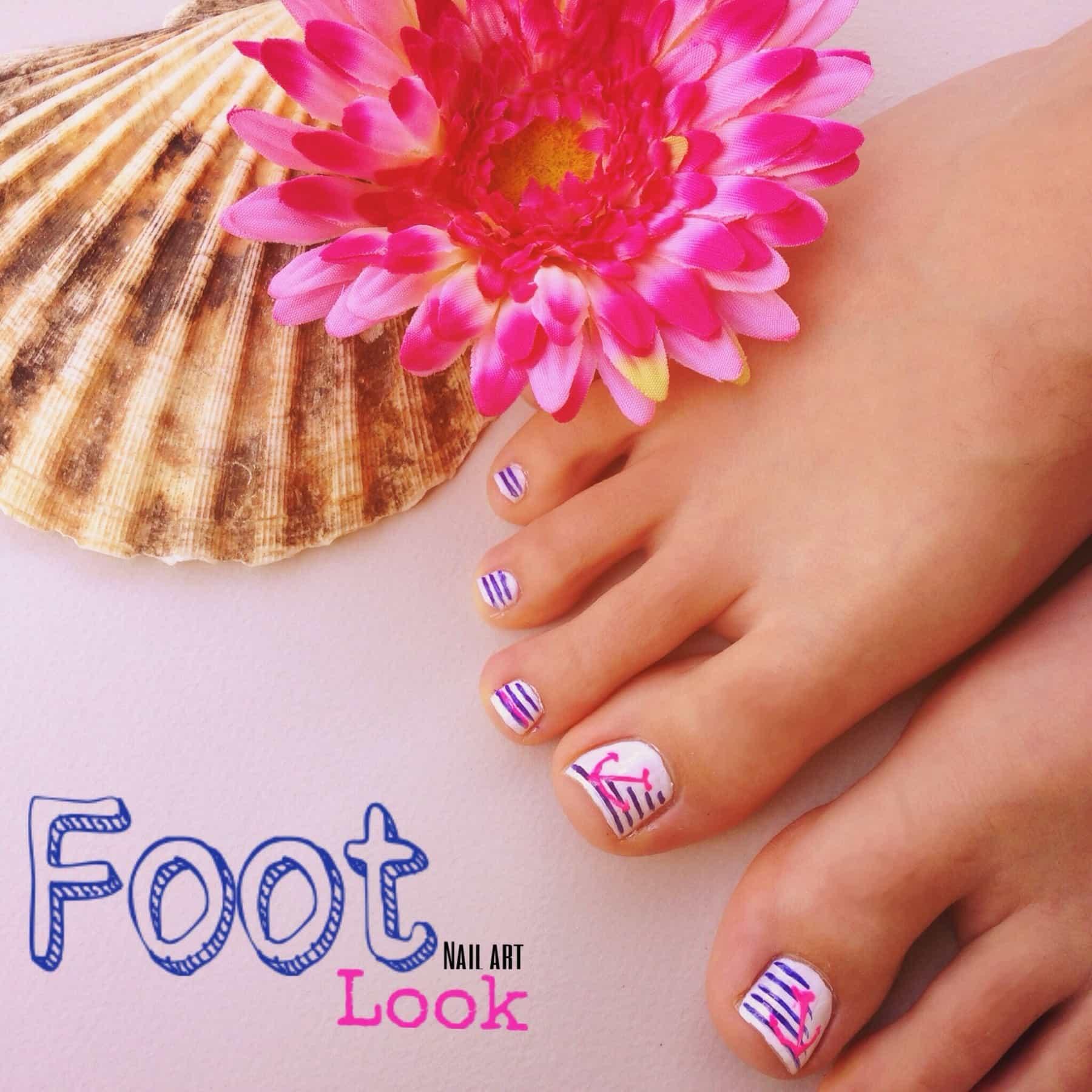 Unghie dei piedi perfette