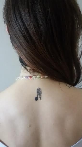 Il tatuaggio di Violetta