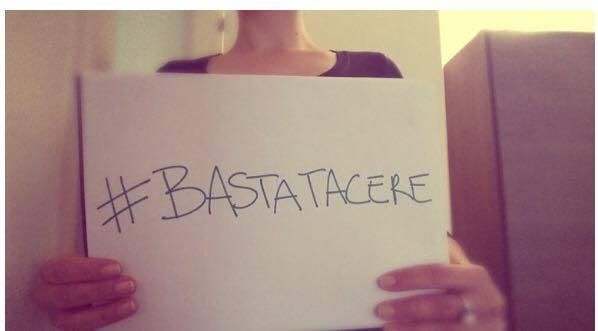 La campagna: #bastatacere