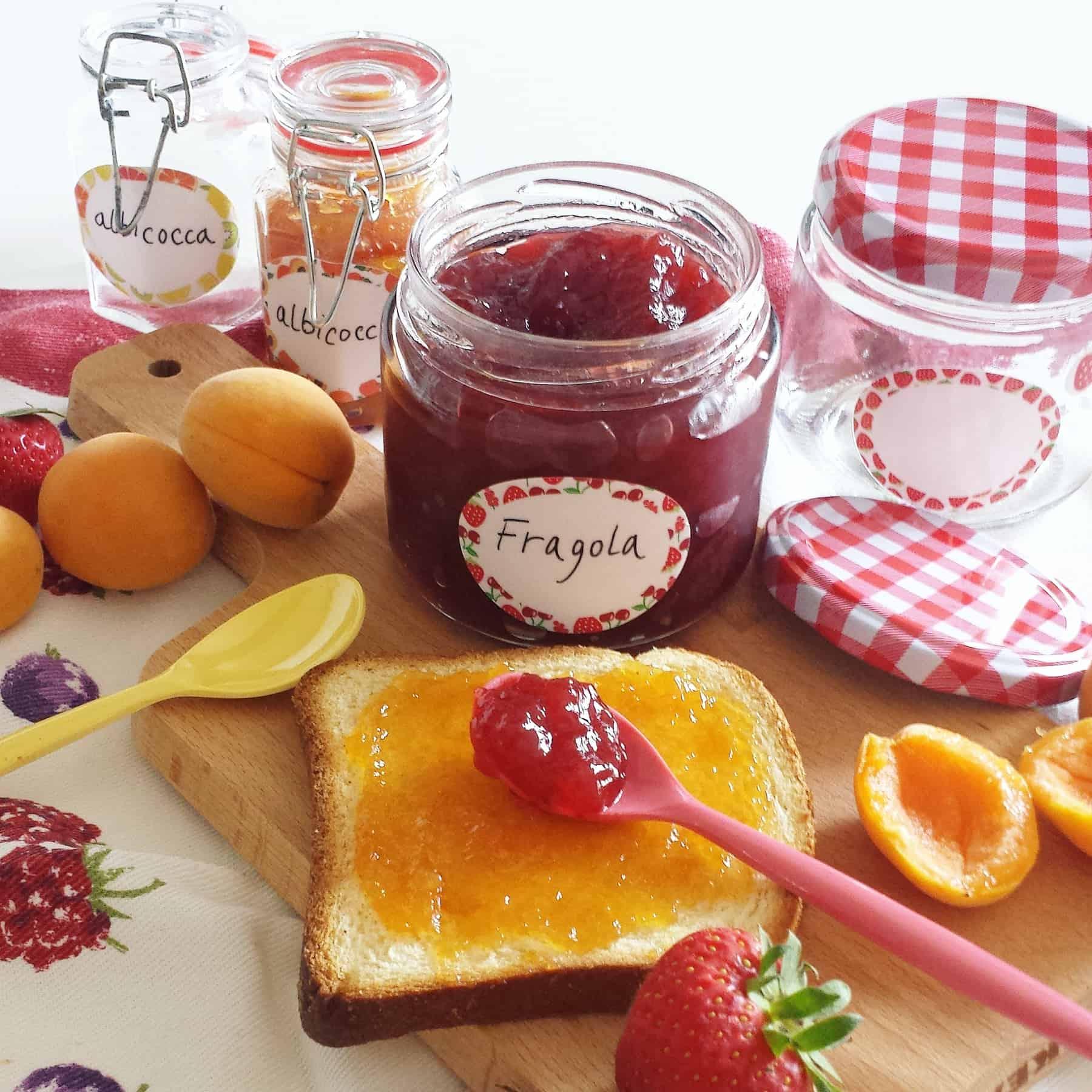 Etichette per marmellata Petit Fernand