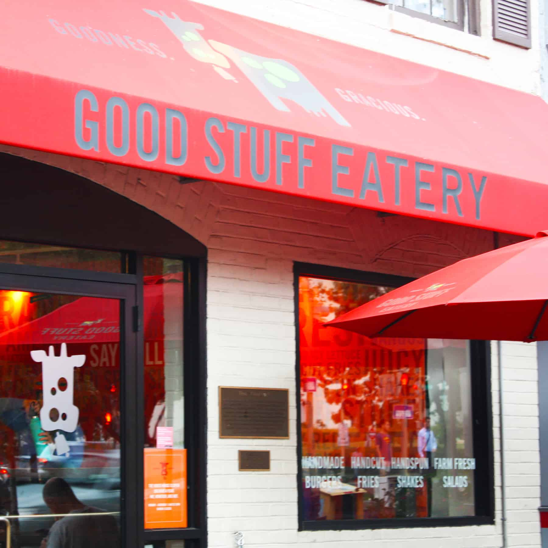 Un panino presidenziale a Washington da Good Stuff Eatery