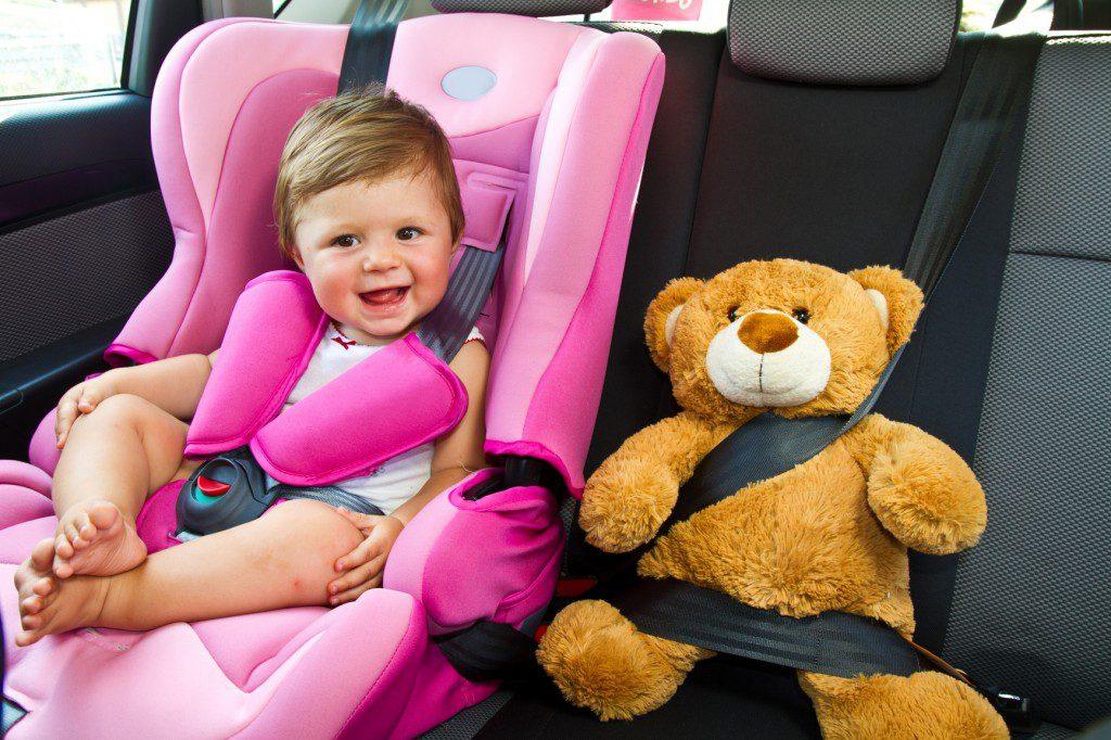 Trasporto bambini in auto