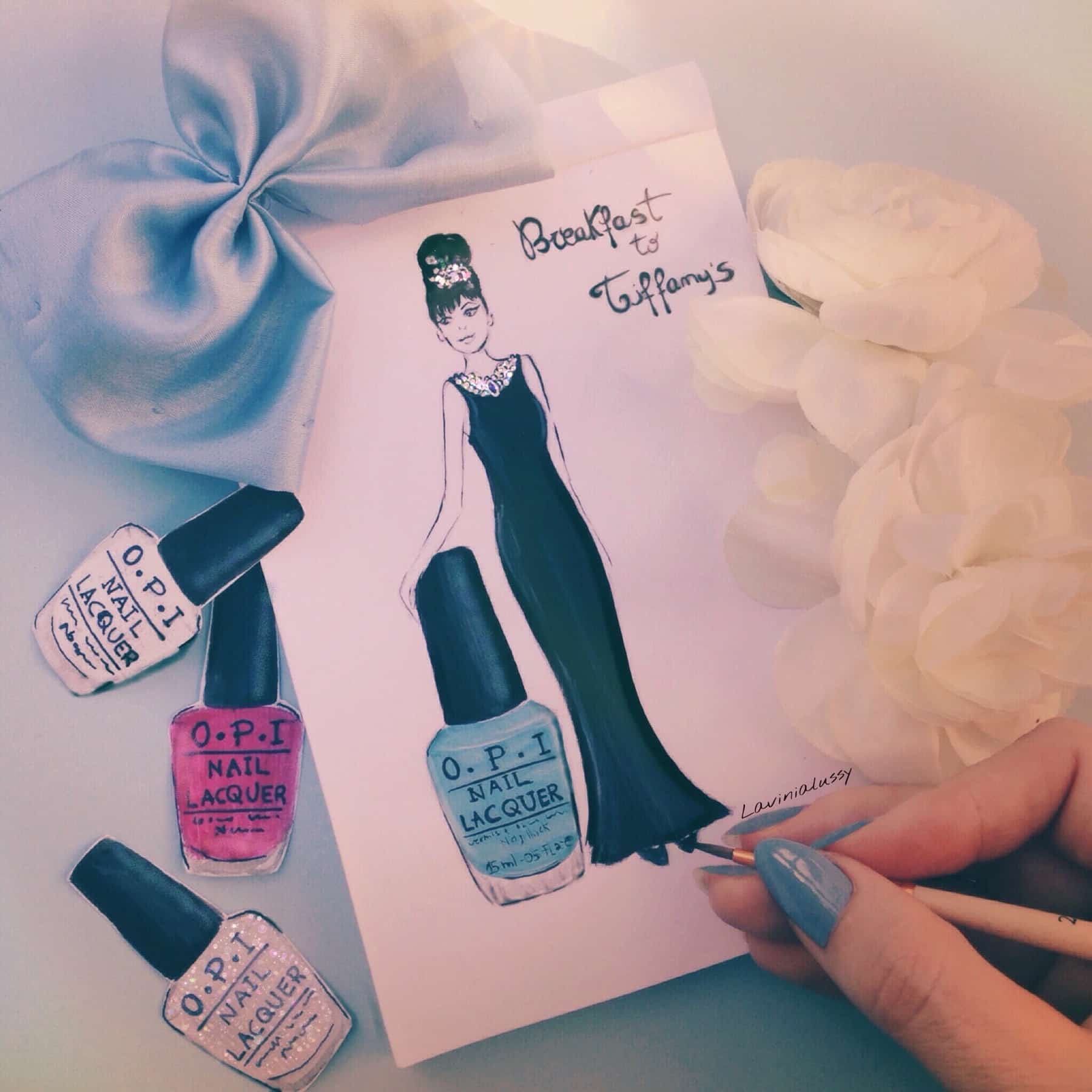 Smalti OPI, collezione Breakfast at Tiffany's