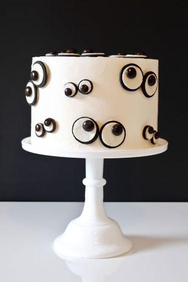 monster eye cake - halloween
