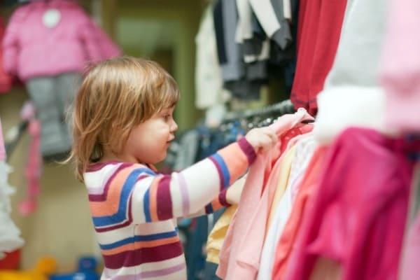 Shopping con i bambini