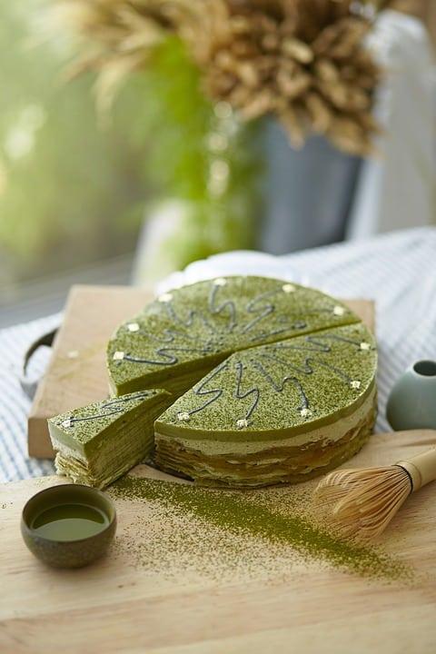 torta tè verde