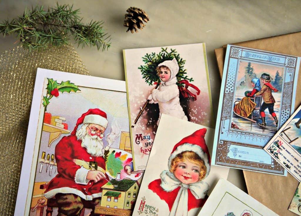 Immagini vintage di Natale
