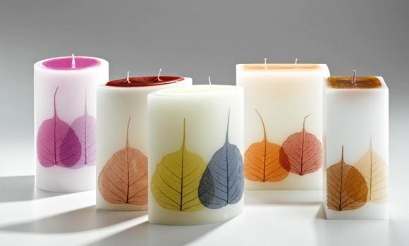 candele-con-decoro-foglie