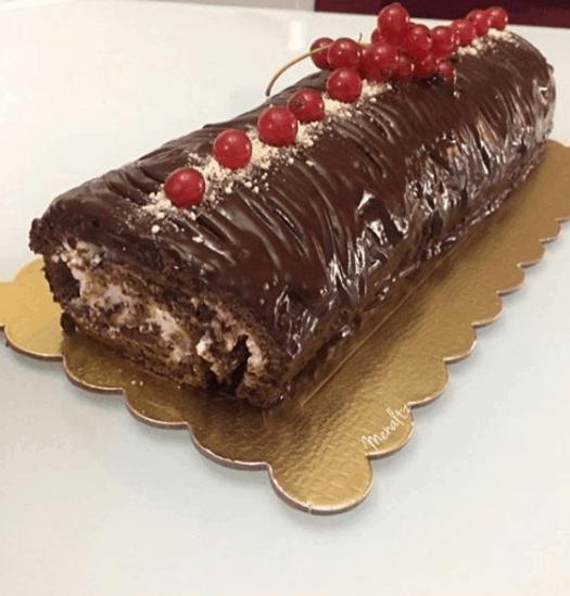tronchetto cioccolato e mascarpone