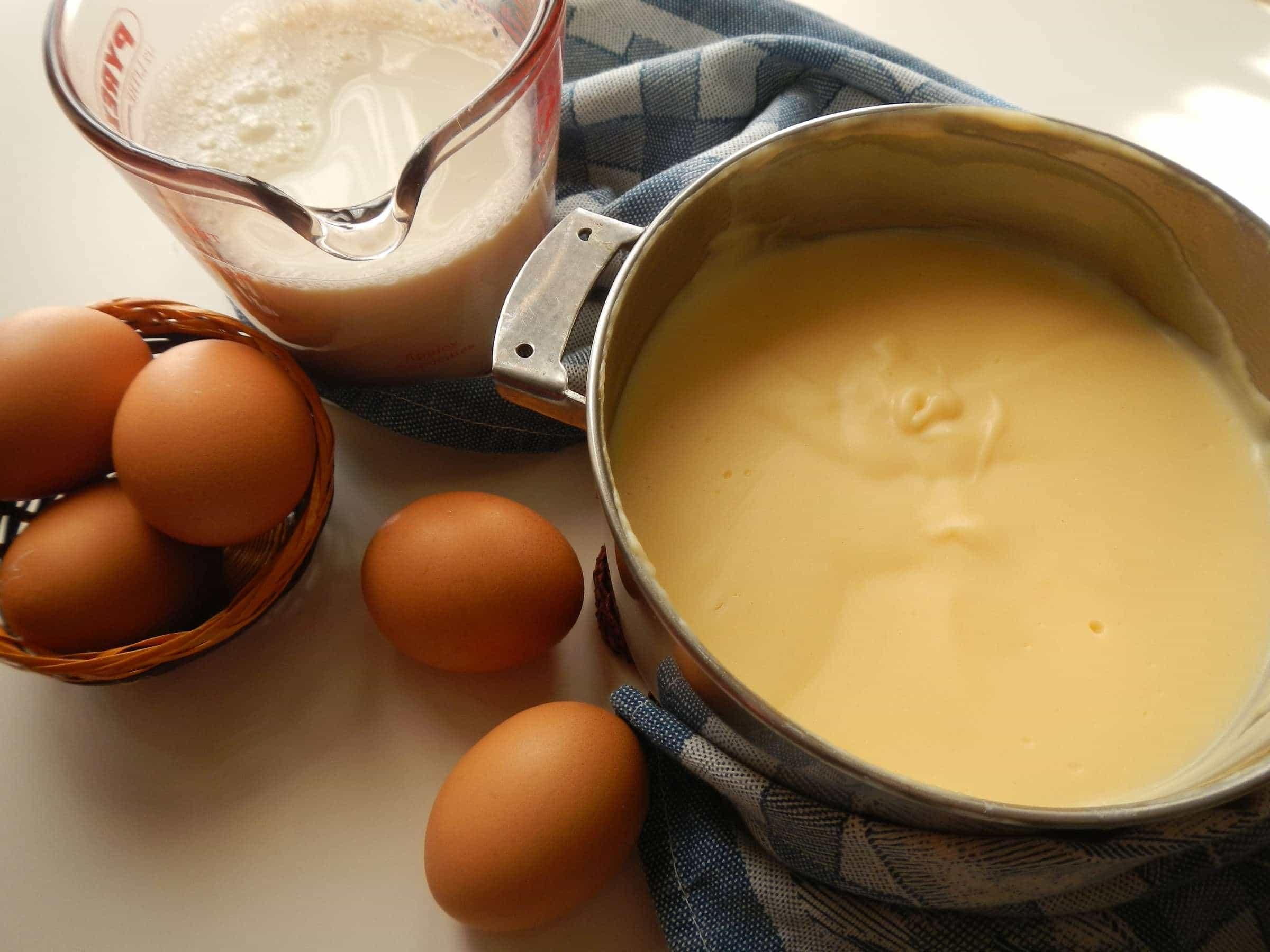 Iniziamo dalla crema… pasticcera!