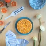 Torta ricotta e arancia