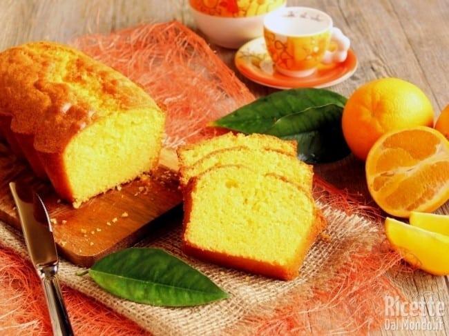 Fatto con il bimby: plumcake all'arancia