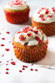 Muffin con la cheese cream di San Valentino