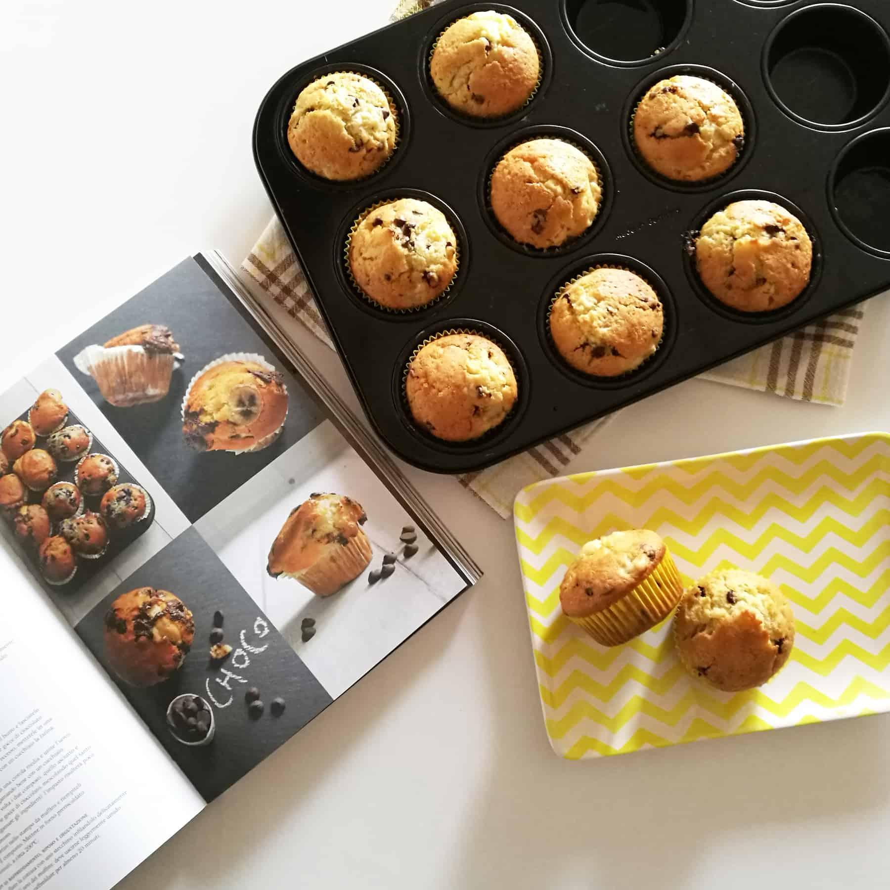 Banana-Chocolate Muffin