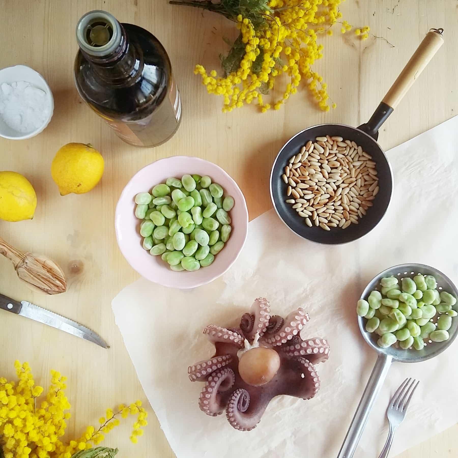 insalata di polpo ingredienti
