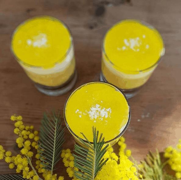mimosa monoporzione