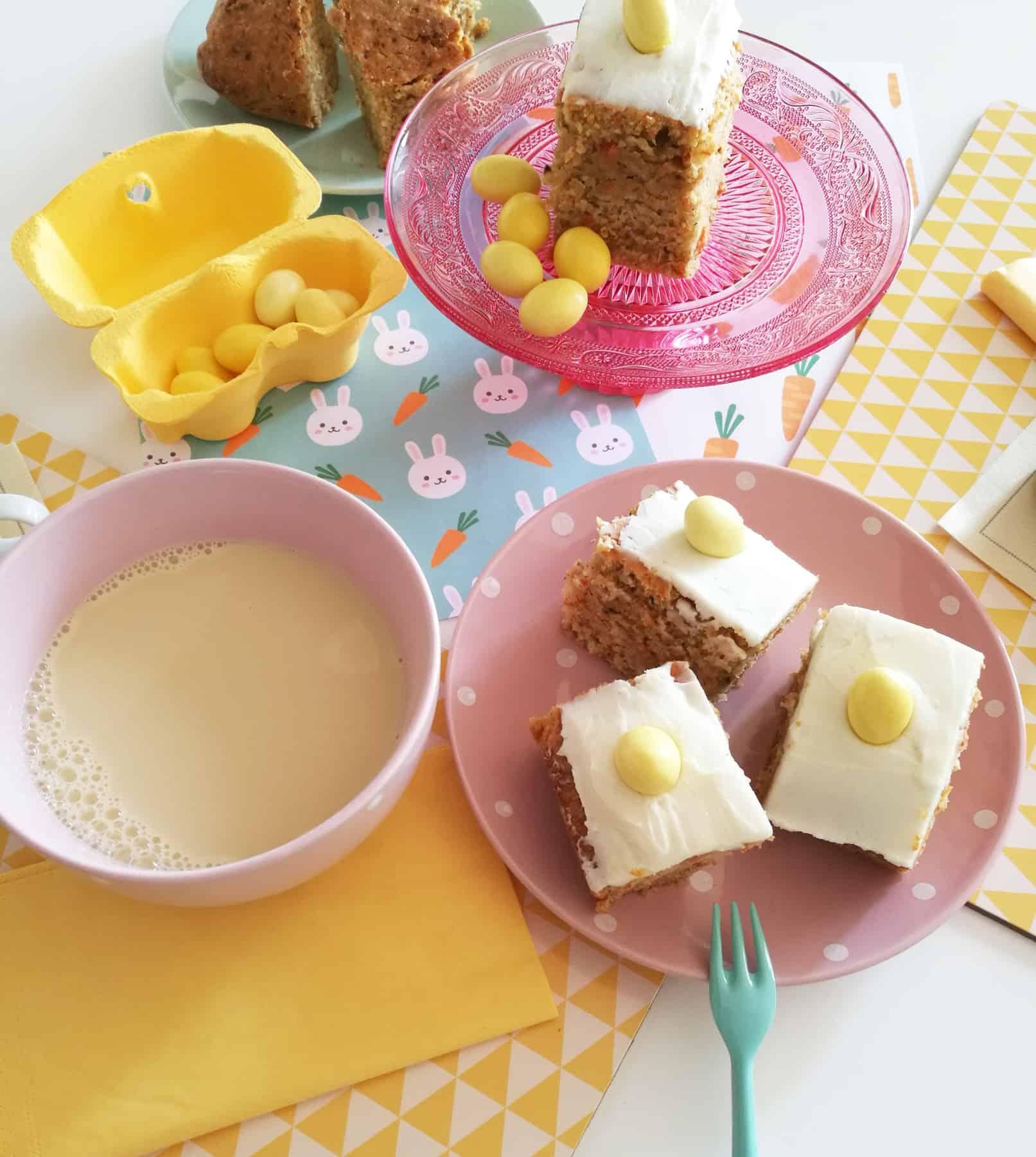 Carrot Square Cake
