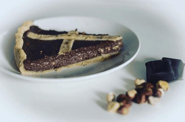 crostata gianduia