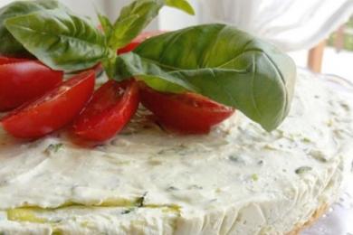 cheesecake salata zacchianna