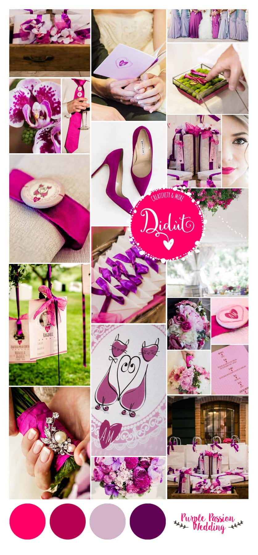 Didut WeddingMood PURPLE