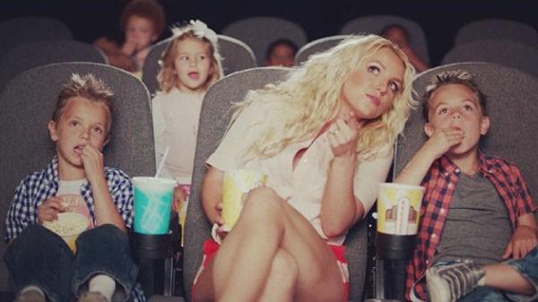 Britney Spears: una #mammainbluejeans