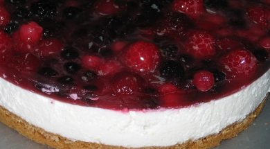 Cheesecake di frutti di bosco