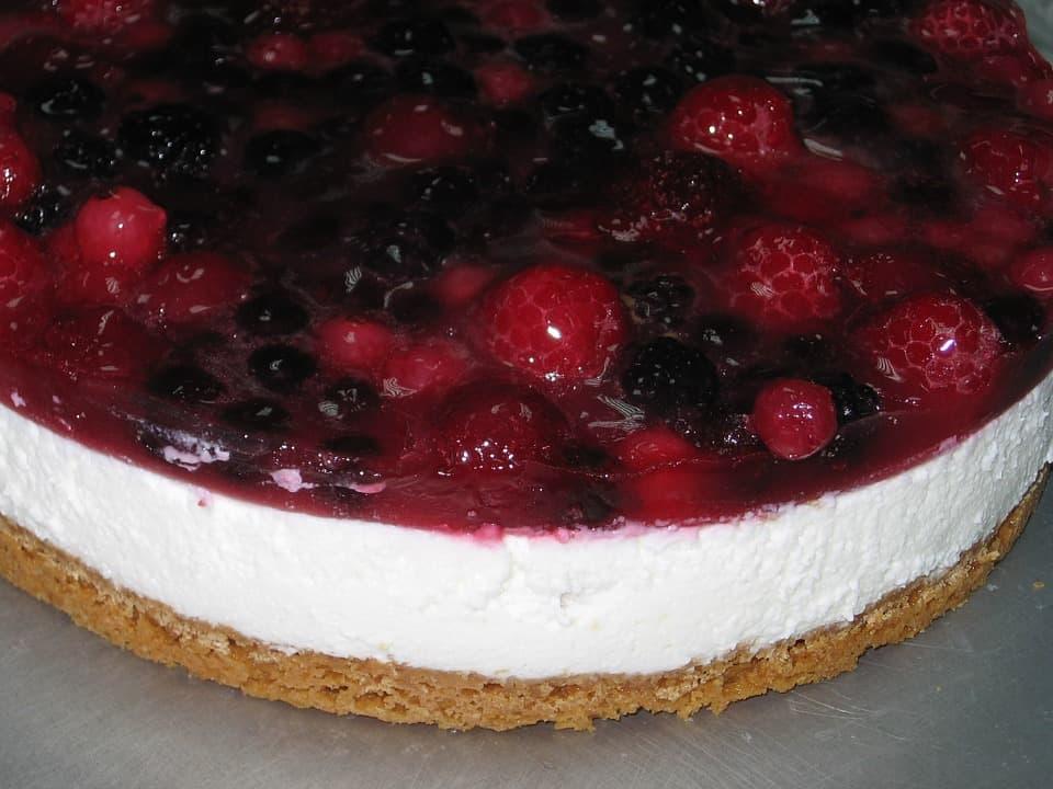 Cheesecake di frutti di bosco